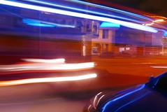 corner at night 20 (SJ Finn) Tags: colour night lights movement time vehicles sj finn