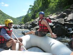 Ready to raft the Zambezi River (little_duckie) Tags: africa rafting zimbabwe whitewaterrafting zambezi zambeziriver