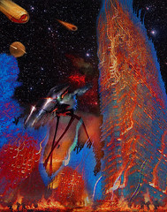 firestorm (Bill Sargent) Tags: fire sciencefiction waroftheworlds firestorm hgwells artdigital