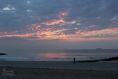 (Maddily M.G.) Tags: sunset sea mer beach nature clouds eau dunes dune noordzee reflet northsea knokke nuages nordsee plage coucherdesoleil merdunord zwin nuageux
