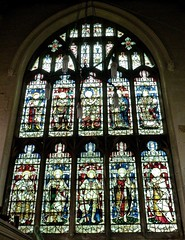 Retford - St Swithun's - Kempe Glass (Glass Angel) Tags: tower saints stainedglass nottinghamshire retford kempe stswithun