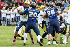 "GFL2 Hildesheim Invaders vs. Assindia Cardinals (Testspiel) 24.04.2015 009.jpg • <a style=""font-size:0.8em;"" href=""http://www.flickr.com/photos/64442770@N03/26070127983/"" target=""_blank"">View on Flickr</a>"