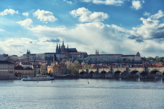 Prague (Rory Prior) Tags: city bridge castle river prague czechrepublic charlesbridge