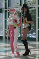 Harley Quinn and Zatanna (Han Shot First) Tags: harleyquinn zatanna wondercon2016