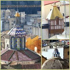 pretty topping (Marlis1) Tags: roof architecture chapel artnouveau modernisme jugendstil marlis1 tortosacataluaespaa canong15