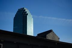 such contrast (nicknormal) Tags: newyork building tower us unitedstates queens hut lic longislandcity tar citi