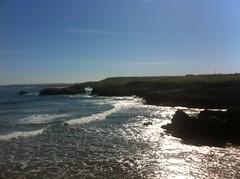 Playa virgen del Mar Santander (javierortegaferrandez) Tags: costa agua playa ola nar