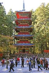 Japan#139_Nikko five storey pagoda (Danke Carlsson) Tags: japan japanese pagoda five storey nikko