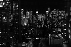 Manhattan Night (Oliver Leveritt) Tags: newyorkcity nightphotography blackandwhite monochrome manhattan sigma30mmf14exdchsm oliverleverittphotography nikond7100