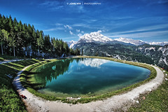 Reflection (Johann Winterholler Fotografie) Tags: blue light mountain lake alps reflection water rock stone germany landscape bayern deutschland bavaria see nationalpark wasser berge lightning alpen landschaft spiegelung mystic jenner gebirge knig knigssee berchtesgarden malerwinkel