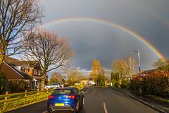 20160407_Rainbow-Drive-LRes (Damien Walmsley) Tags: car drive rainbow alfaromeo knowle