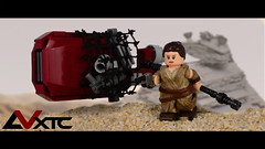 The Force Awakens - Rey (AndrewVxtc) Tags: star force lego 7 figure rey wars custom episode awakens andrewvxtc