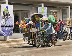 For sale - anything (Beegee49) Tags: street city philippines bacolod peddler selling seller
