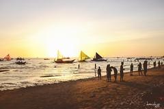 Sail Away... (Daniel Y. Go) Tags: travel vacation beach fuji philippines shangrila boracay shangrilaboracay x100t fujix100t