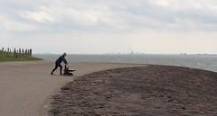 Duwen helpt niet (Omroep Zeeland) Tags: trimmer bankje westerschelde