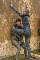 Boost ! (women) (stevefge) Tags: girls people netherlands sport climb women mud action nederland event viking obstacles berendonck nederlandvandaag reflectyourworld strongviking