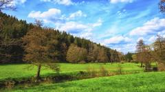 Green sunshine valley (Akito-X) Tags: sky green nature water sunshine river bayern deutschland spring stream wasser natur himmel bach valley grn frhling sonnenschein thal canonefs1022mmf3545usm kastl canoneos7dmarkii