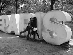Version 2 (danielrieu) Tags: blackandwhite bw paris france couple noiretblanc nb vincennes amoureux