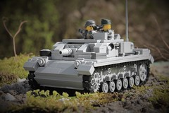 StuG III A (Joe Brick) Tags: tank lego wwii ww2 custom panzer