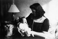 dad & grandmom - february 1943 (Doctor Casino) Tags: evelyn judy florentine godel girth laimon