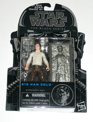 star wars the black series 2015 #19 han solo with carbonite block the empire strikes back return of the jedi hasbro 3.75 inch action figures mosc a (tjparkside) Tags: blue 6 black cards star back inch fighter hand with arm action bs 5 five tie millennium v card solo return captain esb empire figure falcon chamber jedi packaging series sw block boba wrist wars cuff tbs six figures 19 strikes cuffs pilot episode han vi nineteen bicep debut hasbro bespin binder fett accessory binders sculpt 375 carbonite 2015 rotj cardback tesb