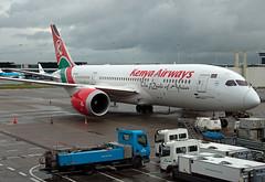 5Y-KZA Boeing 787-8 Dreamliner (Irish251) Tags: amsterdam kenya boeing airways schiphol ams eham 787 dreamliner 7878 kq117 5ykza