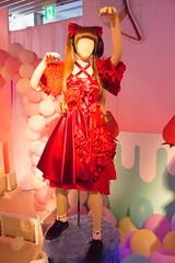 "Kyary Pamyu Pamuseum 2 ~Ishou Mori Mori Okashi na Mori~: Kyary Pamyu Pamyu's Costume of ""Fashion Monster"" in Music Station (Dick Thomas Johnson) Tags: music art fashion japan tokyo costume outfit  roppongi  wardrobe roppongihills minato       musicstation kpp  m fashionmonster  kyarypamyupamyu    kyarypamyupamuseum"