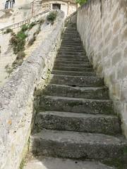 Friday Colours - The Many Staircases of Matera (Pushapoze - toujours en retard) Tags: italy stone italia pierre basilicata staircase matera sassi escalier