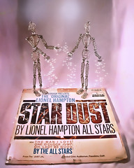 Add A Little Stardust! (Jo-Warming Up To The 80's :)) Tags: pink silver stars wire artist models statues hampton recording lightbox stardust 1947 odc amazoneve amazonanne