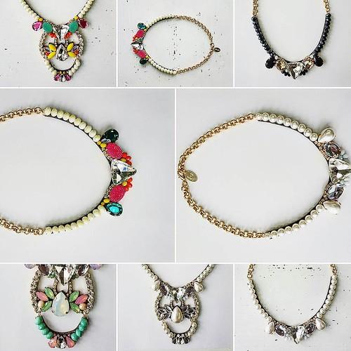 Arricchire un abito con un collo Gioiello? Ecco alcune proposte Younique... #colletto #necklaces #collane #younique #accessori #personalizzati #madeinitaly #handmade #collane #bracciali #spille #orecchini #earrings #swarovsky #fashionjewellery #jewels #wh