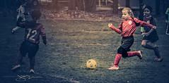 Soccer (Joseph D'Agostino Photography) Tags: sports fun grunge soccor splittone