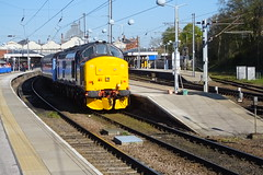 DRS Class 37 37419 and 37405 on the Each Explorer (dbidwell78) Tags: street liverpool diesel explorer rail loco class norwich ely locomotive greater each services direct anglia drs 37405 37419 abellio
