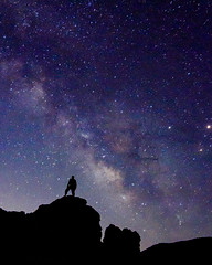 The Milky Way (Carter_Wilson) Tags: silhouette night way stars solar 420 astro system moonrise milky slo sanluisobispo astrophotgraphy