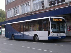 Premiere 3334 Ilkeston (Guy Arab UF) Tags: bus buses volvo derbyshire centro coop premiere ilkeston plaxton 3334 b7rle bk10mfy