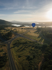 CBR-Ballooning-110284.jpg (mezuni) Tags: aviation australia hobby transportation hotairballoon canberra hobbies activity ballooning act activities passtime oceania australiancapitalterritory balloonaloftcbr