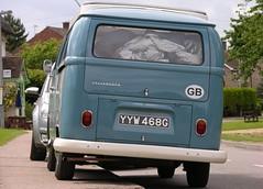 YYW 468G (Nivek.Old.Gold) Tags: 1969 volkswagen devon camper earlybay