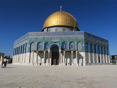 Dome of the Rock (TheWitscher) Tags: rock mos temple israel jerusalem mosque mount dome omar alaqsa felsendom