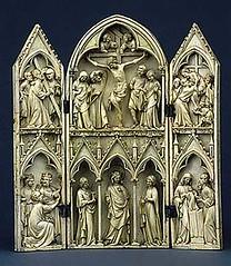Triptyque de la Vierge glorieuse (1280-1300 ca, Fra.) (bourdy65) Tags: musenationaldumoyenage triptyque viergeglorieuse ivoiremoyenage
