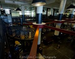 Spiral Staircase to Food Court (4 Pete Seek) Tags: atlanta meetup atl wideangle wa atlantageorgia superwideangle uwa swa pcm ultrawideangle southeasternphotographicsociety poncecitymarket