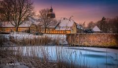 Fürstenau Castle (andreasmally) Tags: winter castle schloss fürstenau schnee sunrise