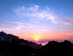 Royal sunset above Beirut (SebastiEn95) Tags: winter sunset sky lebanon weather clouds landscape soleil warm mediterranean hiver coucher peinture beirut hdr comme une beyrouth liban colorsblast
