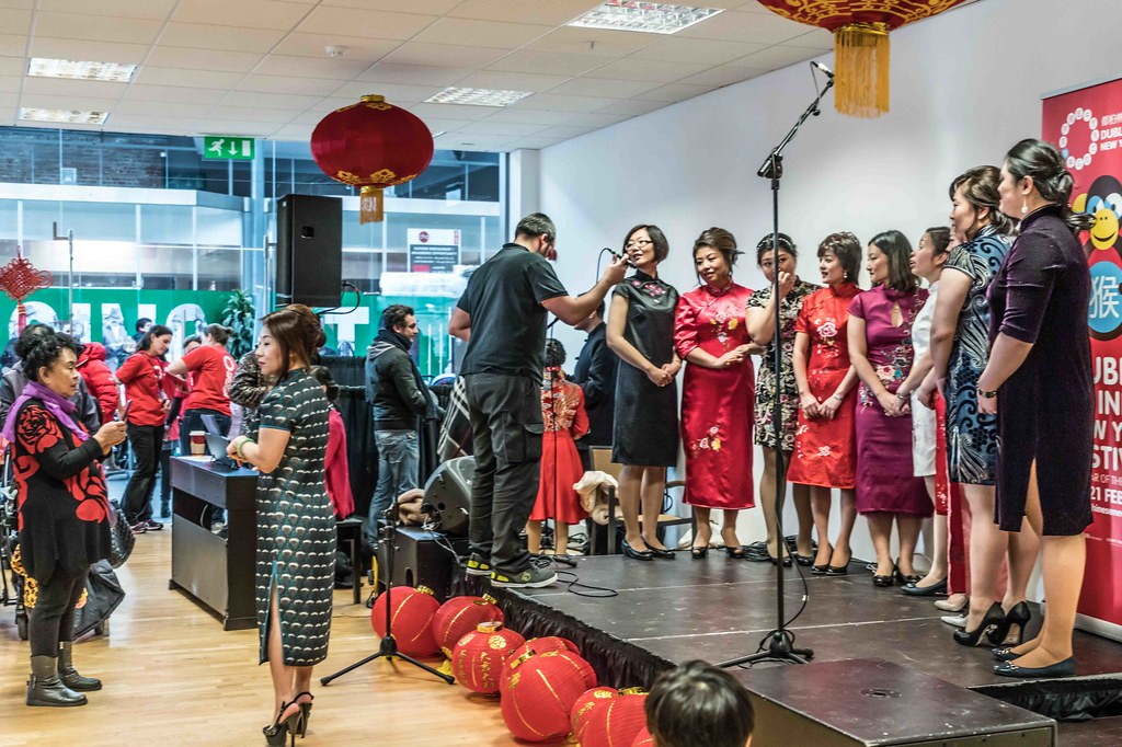 CHINESE COMMUNITY IN DUBLIN CELEBRATING THE LUNAR NEW YEAR 2016 [YEAR OF THE MONKEY]-111574