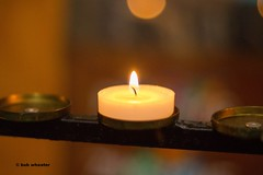 one light.jpg (bob wheater photography) Tags: light church one candle flame