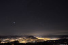 Brouillard sur la vallée de l'Arve. (suarez.christophe) Tags: pollution 74 brouillard bonneville brume étoiles arve étoile hautesavoie