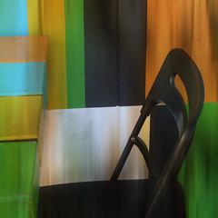 vacancy (msdonnalee) Tags: abstract chair silla fx chaise stuhl cadeira hss abstractreality blackchair sedianera sillanegra magicunicornverybest netartii schwarzerstuhl