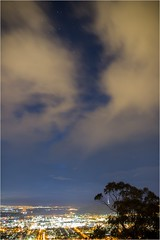 5D3_7621 (Dallas Maher) Tags: city sky color colour nature night clouds canon lights twilight scenery mt mark iii hills mount kangaroo 5d canberra lightning ainslie