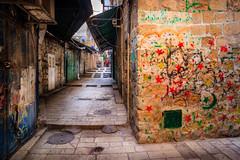 Jerusalem Alleys (davecurry8) Tags: israel alley arch jerusalem bazaar oldcity