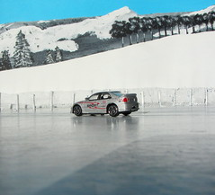 A Selection Of Small Rally Scale Die-Cast Cars Set In A Winter Diorama Scene : Lexus IS300 Suntoys 2001 - 7 Of 10 (Kelvin64) Tags: 2001 winter cars scale set small rally selection scene diorama lexus diecast in is300 a of suntoys