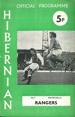 Hibernian v Rangers 19740810 (tcbuzz) Tags: road cup club easter scotland football edinburgh scottish league programme hibs hibernian