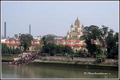 5861 - Dakshineswar Kali Temple, Kolkata (chandrasekaran a 30 lakhs views Thanks to all) Tags: india architecture canon river traditions kolkata kalitemple dakshineswar houghly templesarchitecturesscuptures powershotsx60hs